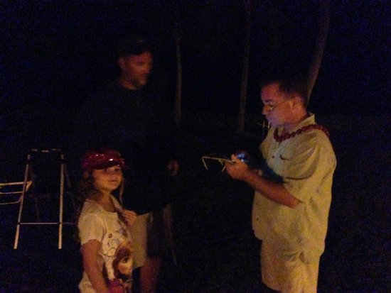Stars Above Hawaii: Visting after the tour with Steve