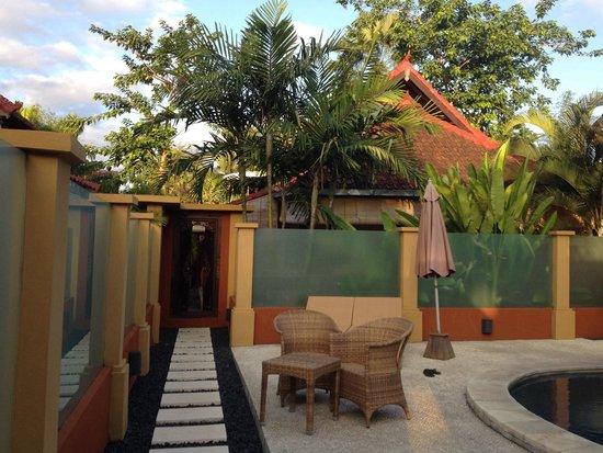 Bali Alizee Villas : Entrance to our Bungalow