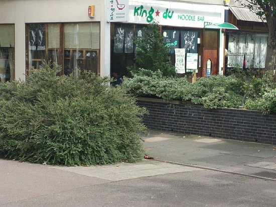 King du Noodle Bar restaurant: Outside