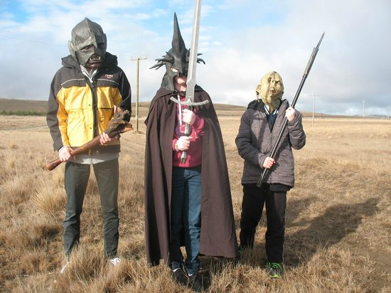 Lord of the Rings Twizel Tour: Masks