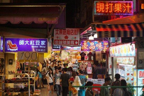 Shilin Nightmarket: 地上