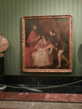 Museo Nazionale di Capodimonte: Paolo III Farnese con nipoti