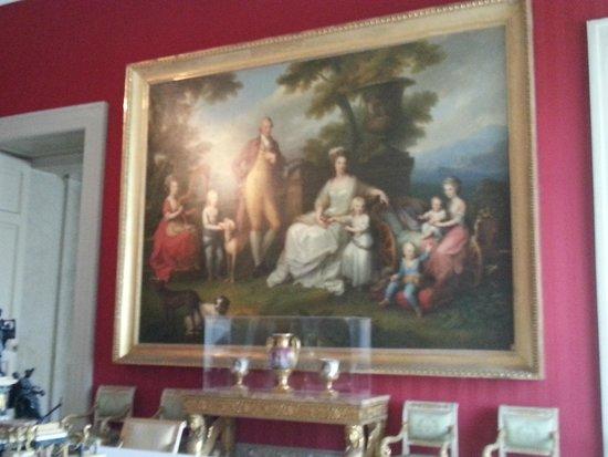 Museo Nazionale di Capodimonte: Ferdinando I delle Due Sicilie (già Ferdinando IV di Napoli) con la famiglia