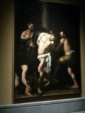 Museo Nazionale di Capodimonte : Flagellazione di Cristo del Caravaggio