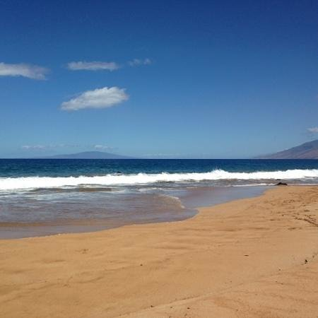 makena surf beautiful view