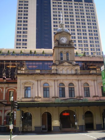Sofitel Brisbane Central : Central Station, with Sofitel behind