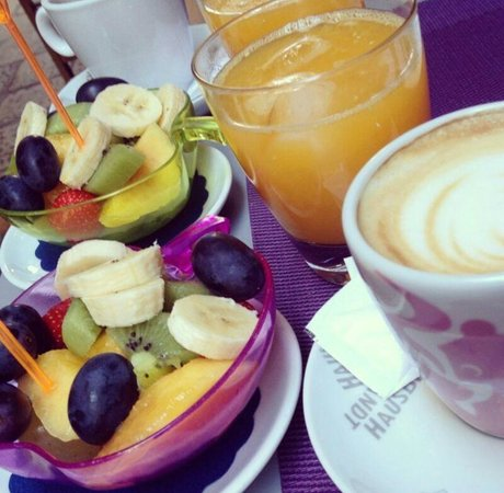 Glam Cafe: breakfest