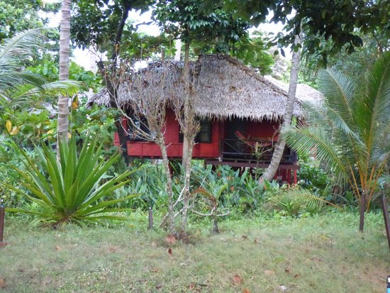 Relax Bay Resort : Na bungalow
