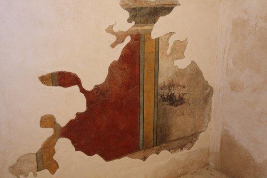 Masada National Park: affreschi