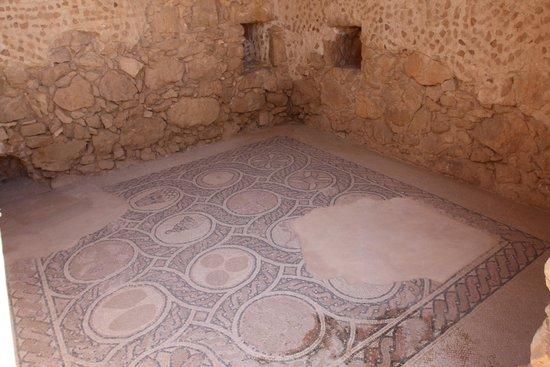 Masada National Park: mosacico
