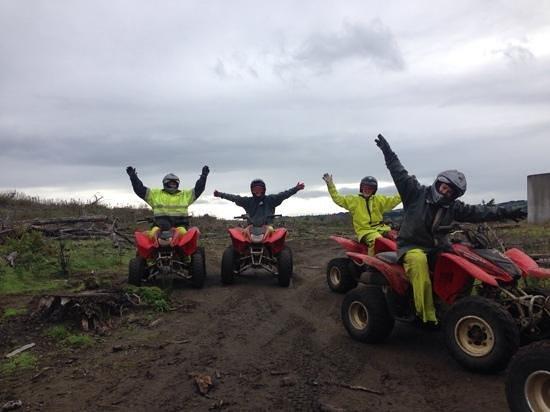 4 Track Adventures: 4 Very Happy People!