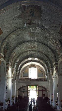 Exconvento de Calpan: Interior del Convento franciscano de Calpan. Siglo XVI, Patrimonio mundial, UNESCO.