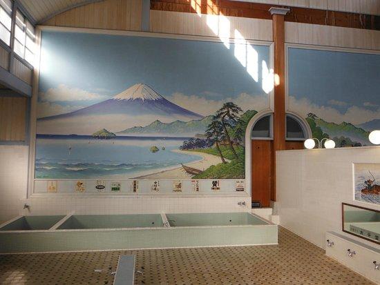 Edo-Tokyo Open Air Architectural Museum: 江戸東京たてもの園(子宝湯:内部)