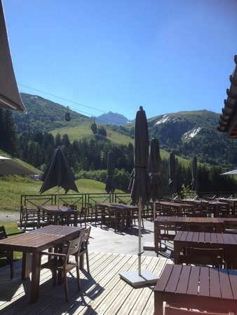 Club Med Valmorel : View during afternoon tea