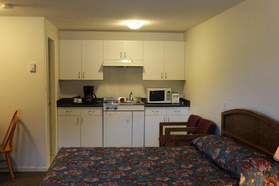 Best Continental Motel: kitchenette