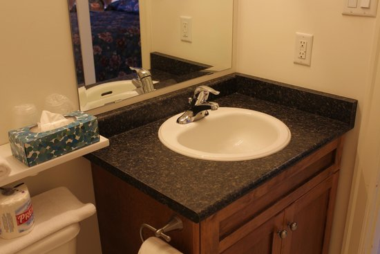 Best Continental Motel: sink in new unit