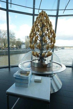 Schokoladenmuseum Köln: Шоколадный фонтан