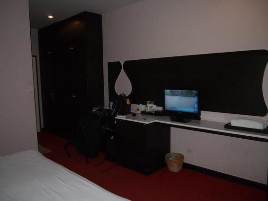 Nongkhai City Hotel: Double room