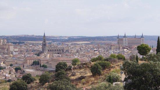 Hotel Cigarral Domenico : Vistas de Toledo desde el Hotel