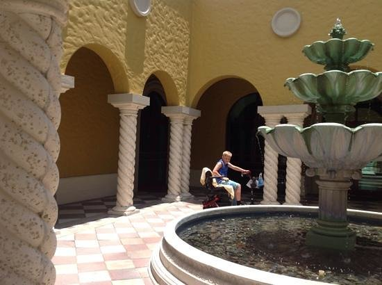 Hilton Grand Vacations at Tuscany Village: gavin on his scooter......��