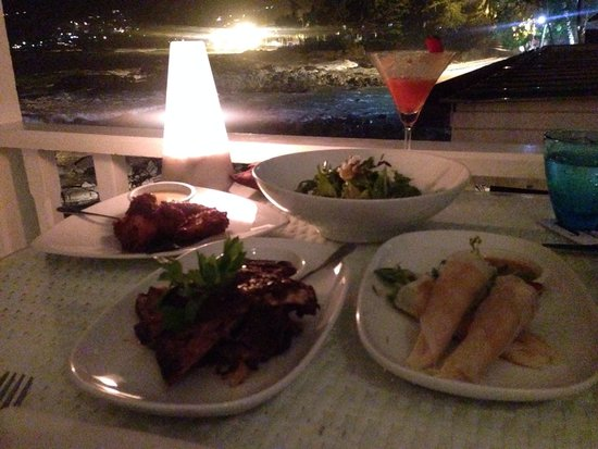 Joe's Downstairs : Dinner with amazing view