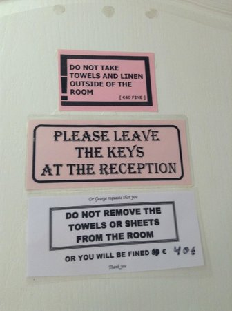 The Pink Palace: Rules!