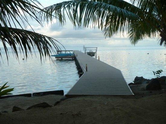 Opoa Beach Hotel : Ponton