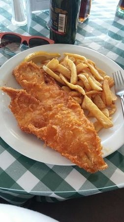 Golden Grid : The Cod and Chips! Amazing quality
