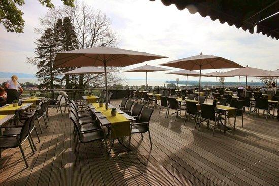 Bodensee-Hotel Sonnenhof: Terrasse