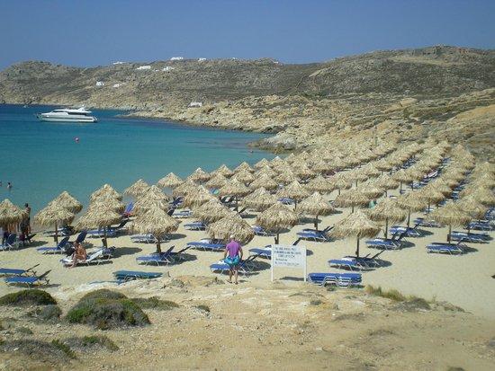 Elia Beach Restaurant: vista della spiaggia