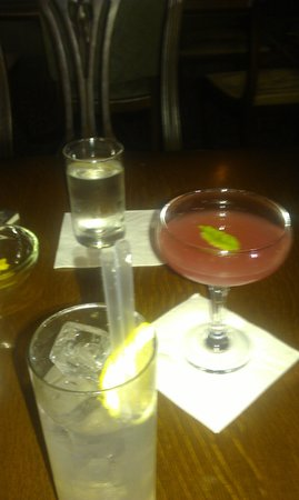 Tigermilk at The Duke: Collins and cupid.