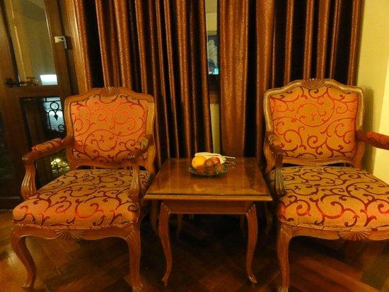 Hotel Majestic Saigon : 窓際