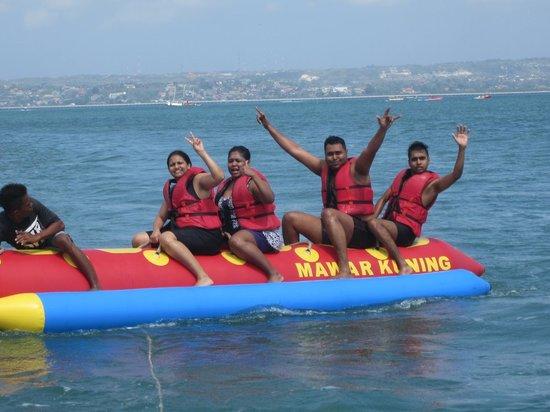 Private Driver in Bali - Made Dodi 'Family Team': Banana Boat
