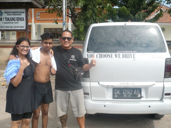 Private Driver in Bali - Made Dodi 'Family Team': DhiniSathya with Hery
