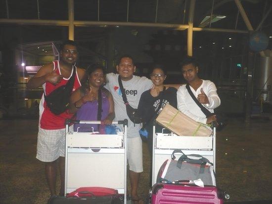 Private Driver in Bali - Made Dodi 'Family Team': Leaving Bali to S'pore