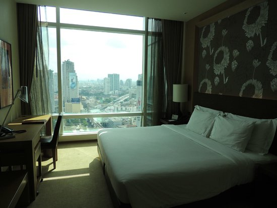 Eastin Grand Hotel Sathorn: Vue depuis notre chambre type Sky Vue