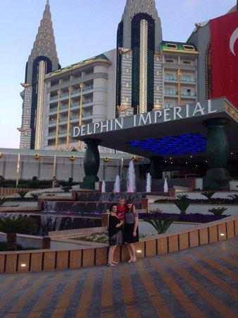 Delphin Imperial Hotel Lara: Front