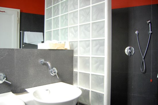Hotel Mediterraneo : Bathroom with shower in superior