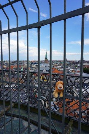 Rundetårn : View from Round tower. Copenhagen