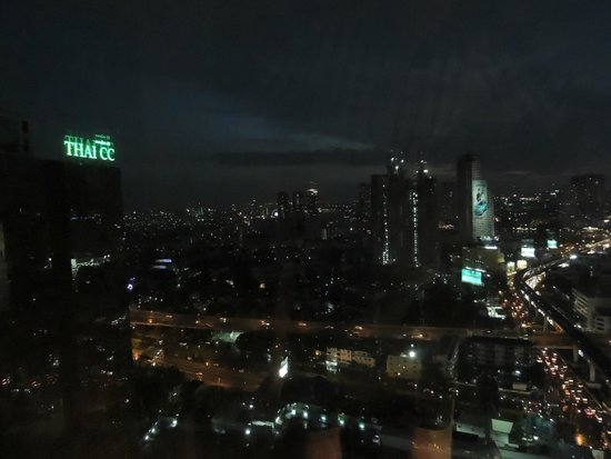 Eastin Grand Hotel Sathorn: Vue by night