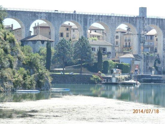 Bateau à Roue Royans Vercors: le pont de saint nazaire en royan