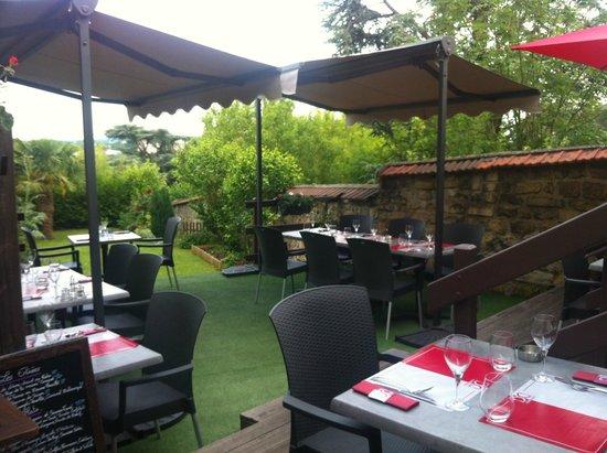 Jardin Sur Les Hauteurs De Pontoise Photo De Restaurant Cote Cour