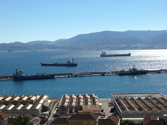 Rock Hotel Gibraltar: Room with a view!
