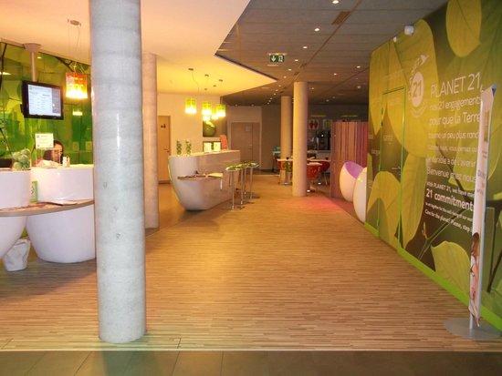Ibis Styles Troyes Centre : La réception