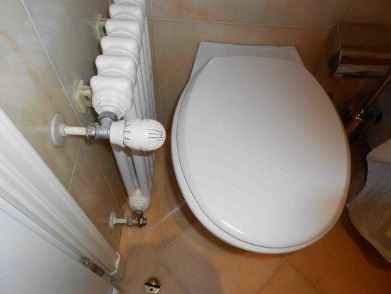 Grand Hotel Des Iles Borromees: le radiateur est trop près des toilettes