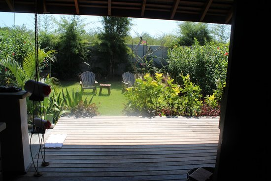 Naya Gawana Resort & Spa: Private backyard