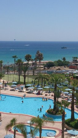 Tsokkos Beach Hotel: Вид на море