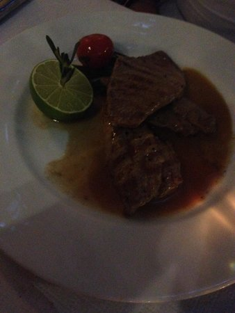Kreis 6: Veal escalopes with lime sauce