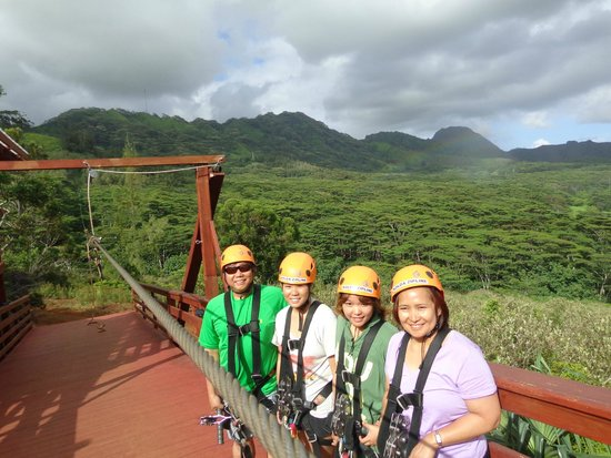 Koloa Zipline: Awesome Zipline Adventure