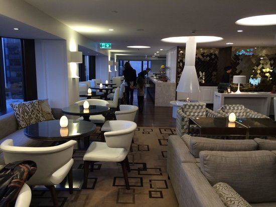 InterContinental Wellington : IC WLG Club Lounge